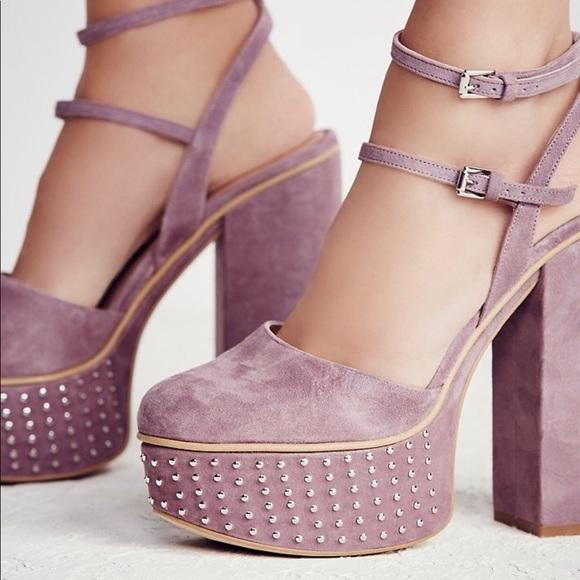 c8426872fd Free People Shoes - Free people star crossed platform shoes